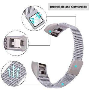 Fitbit Alta HR metal mesh magnetic band